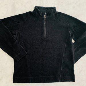 Mountain Hardwear Mens Wool Pullover Sweater Black